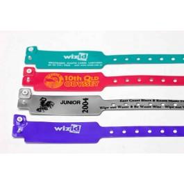 Bracelet vinyl personnalisé Extra Large IDC-548