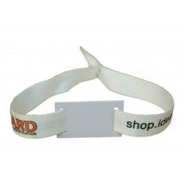Bracelet tissu personnalisé RFID