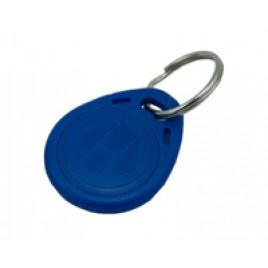 Porte-clés RFID en ABS bleu