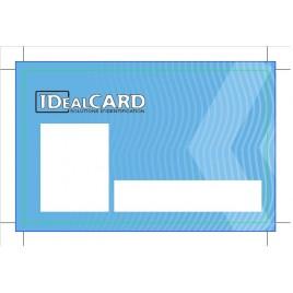 500 Cartes PVC personnalisées