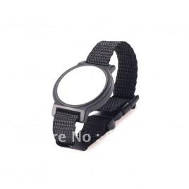 Montre avec bracelet en tissu RFID